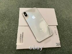 Apple iPhone X 256GB Silver (Unlocked) New with 1 year Apple Guarantee