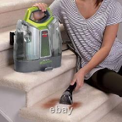 Bissell 3698L Little Green Portable Carpet Cleaner Free 1 Year Guarantee