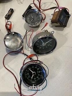 Classic Car Clock Upgrade Service to Quartz Movement with 1 Years Guarantee