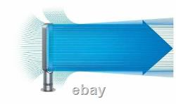 Dyson Cool AM07 Tower Fan Iron/Blue Refurbished 1 year guarantee