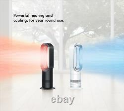 Dyson Hot + Cool AM09 White/Nickel Fan Heater Refurbished 1 Year Guarantee