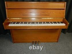 Kemble Classic II Upright Piano. Light Oak Finish With 5 Year Guarantee