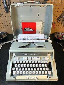 Professionally Refurbished Hermes 3000 Near Mint, One Year Guarantee, Pica 1972