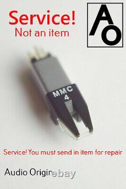 Service! Bang & Olufsen MMC4 stylus cartridge beogram beocenter 7 year Guarantee