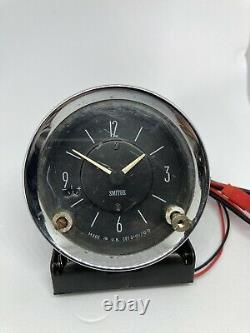 Smiths Car Clock Upgraded To Quartz with 1 Year Guarantee