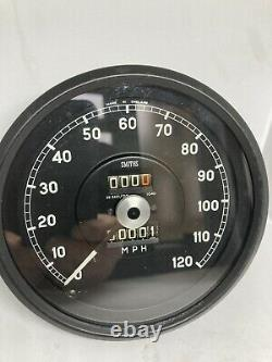 Smiths speedometer 120 mph. Calibrated To 1040tpm With 1 Years Guarantee