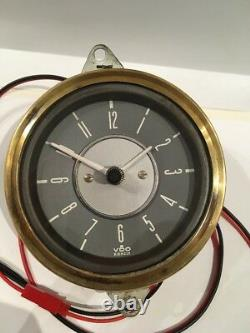 VDO / Kienzle Car Clock With Quartz Movement And 1 Years Guarantee