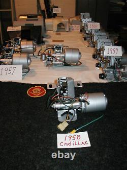 1958 Caddy Tronc Système Moteur 60 Et 62 Ans De Garantie Série Spécial Été