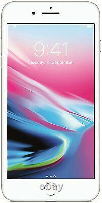 Apple Iphone 8 256 Go Argent (non Verrouillé) Rénové 1 An Garantie De Remise En État