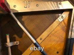 Bechstein Modèle IV Montant. Entièrement Reconditionnée-5 Ans De Garantie