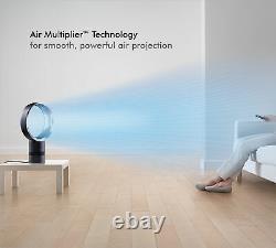 Dyson Cool Am06 Ventilateur De Bureau Blanc/argent Remis À Neuf 1 An Garantie
