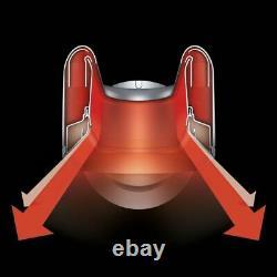 Dyson Hot + Cool Am09 Black/nickel Fan Heater Remis À Neuf Garantie De 1 An