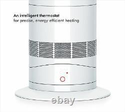 Dyson Hot + Rafraîchissez Am09 Blanc / Nickel Aéroconvecteur Réformé 1 An De Garantie