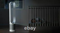Dyson Pure Cool Link Tower Purifier Wh/sv- Garantie D'un An Rénovée