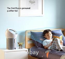 Dyson Pure Cool Me Purificateur Personnel (wh/sv) Remis À Neuf Garantie D'un An