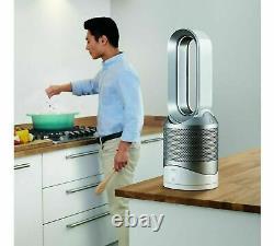 Dyson Pure Hot+cool Link Purifier Heater Wh/sv Remis À Neuf Garantie D'un An