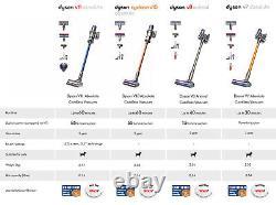 Dyson V8 Absolute Sans Fil Aspirateur Réformé 1 Ans De Garantie