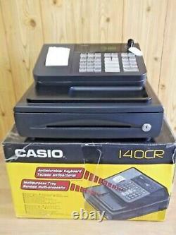 Facile À Utiliser Casio Caisse Enregistreuse État Fantastique. Entièrement Garanti Pendant 1 An
