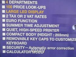 Facile À Utiliser Casio Caisse Enregistreuse Superbe Condition Entièrement Garanti 1 An