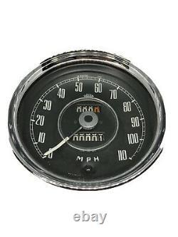 Jaeger Speedomètre Calibré À 1152 Tpm. Rénové Avec Une Garantie De 1 An
