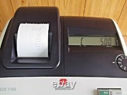 Olivetti Ecr 7100 Cash Register. Bonne Condition 1 Année Garantie