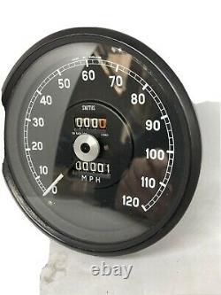 Smiths 120mph Speedometer Calibré À 1040tpm Avec Garantie 1 An