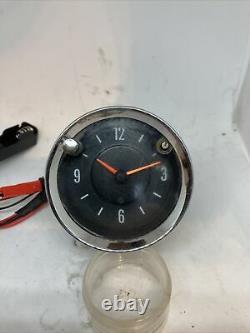 Smiths Horloge De Voiture Améliorée Avec Un Mouvement Quartz Avec 1 An De Garantie