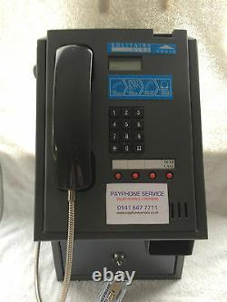 Solitaire 6100hs Payphone 1 An Garantie Acceptera Nouvelle Pièce De Monnaie Livre
